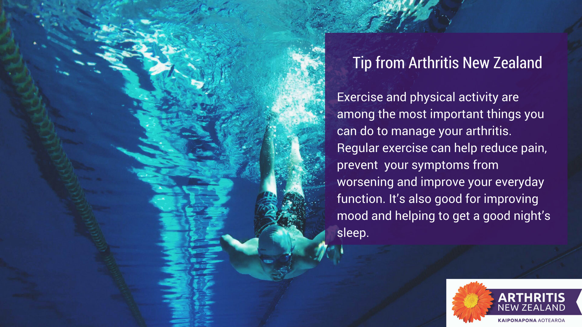 2 - Exercise tips from the Arthritis New Zealand community