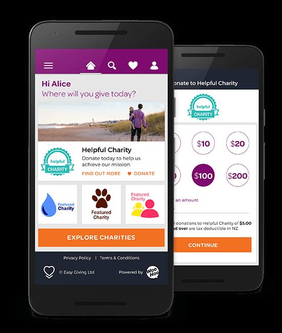 Arthritis NZ - Easy Giving