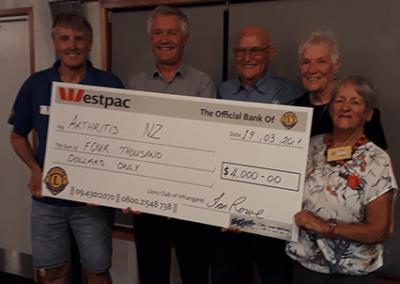 Successful charity golf tournament