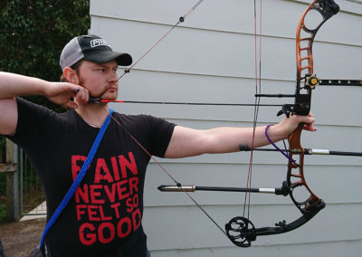 Archery gives a new lease on the life of a young man with psoriatic arthritis
