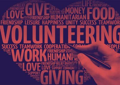 Volunteer to gain valuable work experience